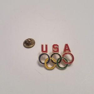Jewelry - USA Olympics Lapel Pin 5 Rings